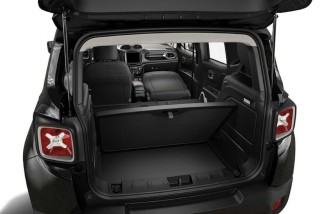 Jeep Luggage space