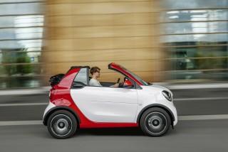 Smart Cabrio Side View