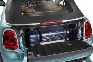 Mini Cooper Cabrio Patmos Exclusive Cars storage